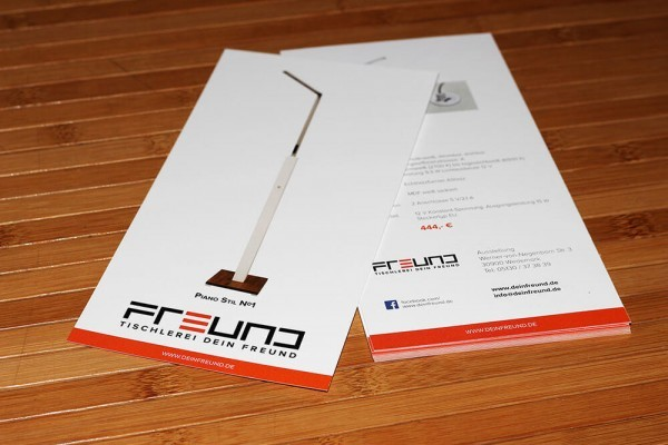 Flyer Printdesign Dein Freund
