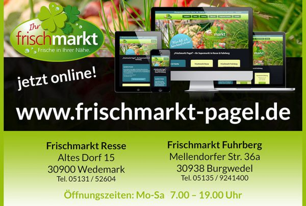 Flyer Frischmarkt Pagel Resse