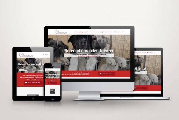 Responsive Webdesign Germaines Herzensstreuner