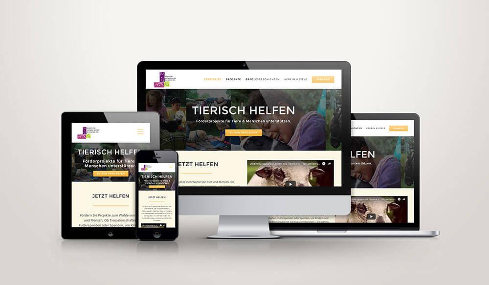 Responsive Webdesign Tierisch helfen