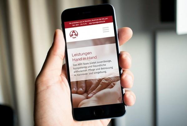 Webdesign Hannover APP-Team Smartphone