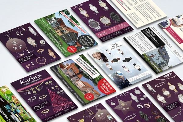 Werbeanzeigen Marketing Wedemark Printdesign