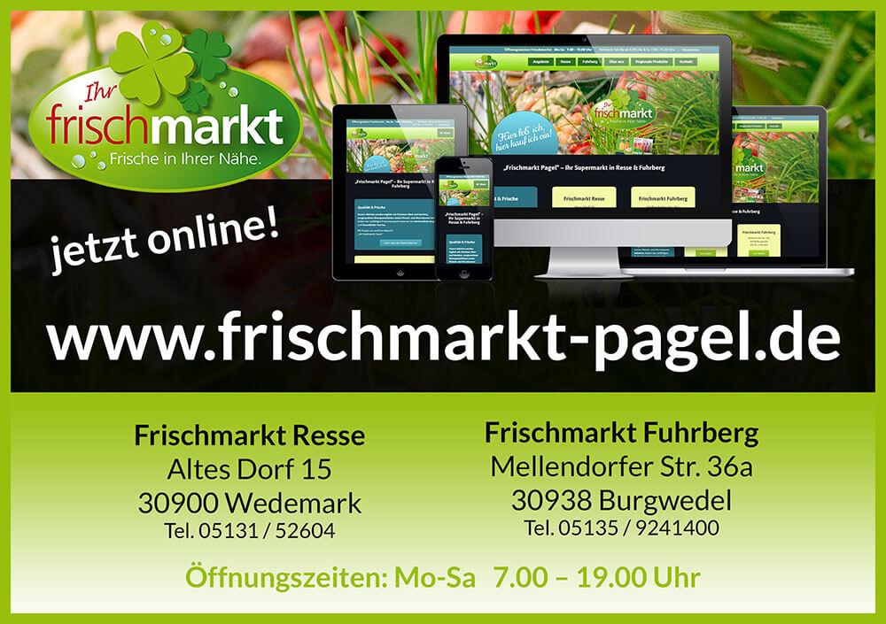Flyer Frischmarkt Pagel Resse