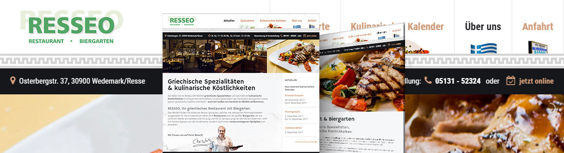 Resseo Webdesign Relaunch