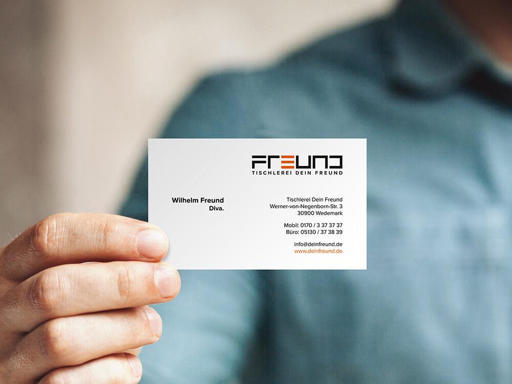 Visitenkarten Design Und Print Ernst Media