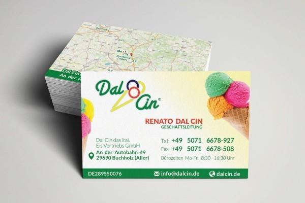 Visitenkarten Design Hannover Dal Cin