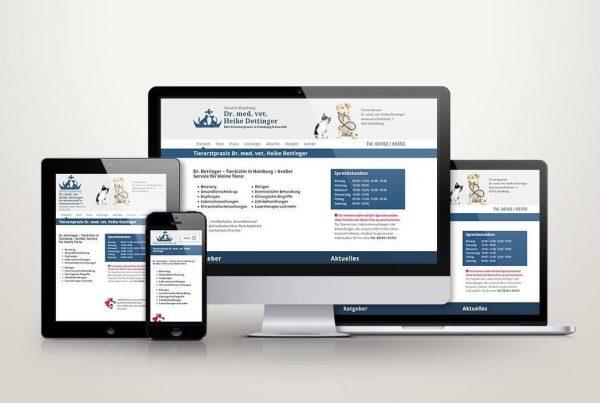 Responsive Webdesign Dettinger